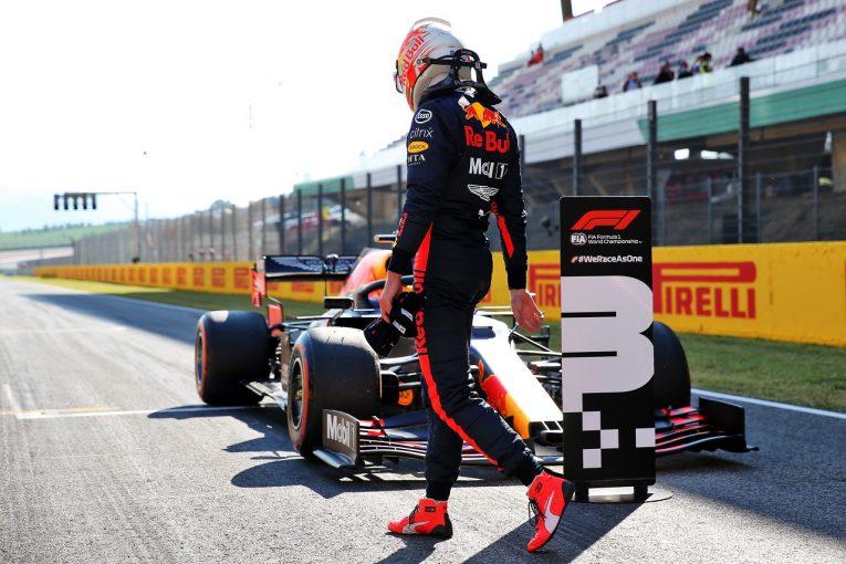 F1 | フェルスタッペン、メルセデスに迫る予選3番手「トップスピードの良さを武器に勝利を狙う」レッドブル・ホンダ【F1第9戦】