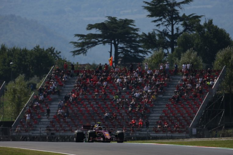 F1   【SNSピックアップ】F1トスカーナGP(2):今季初の有観客予選&安堵のルクレール。古今ライコネン比較
