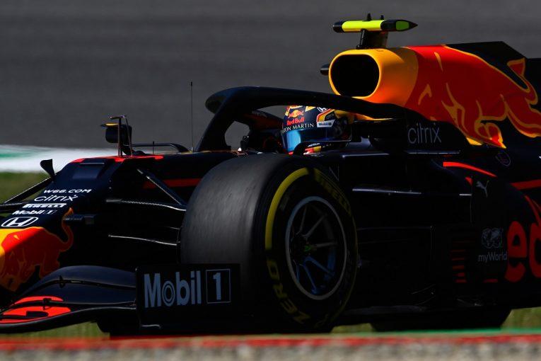 F1 | アルボン、キャリアベストの予選4番手「決勝でメルセデスを苦しめたい」レッドブル・ホンダ【F1第9戦】