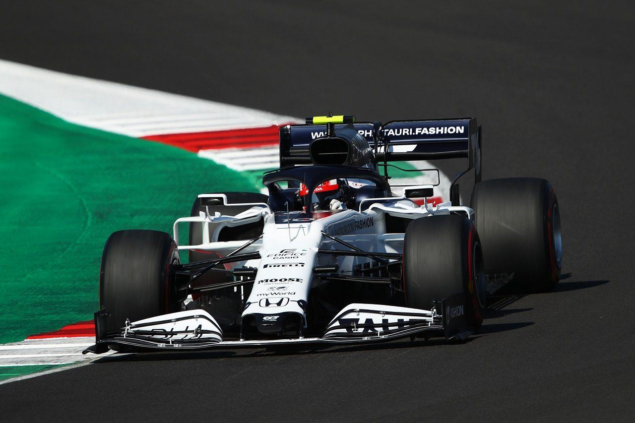 2020年F1第9戦トスカーナGP ピエール・ガスリー(アルファタウリ・ホンダ)