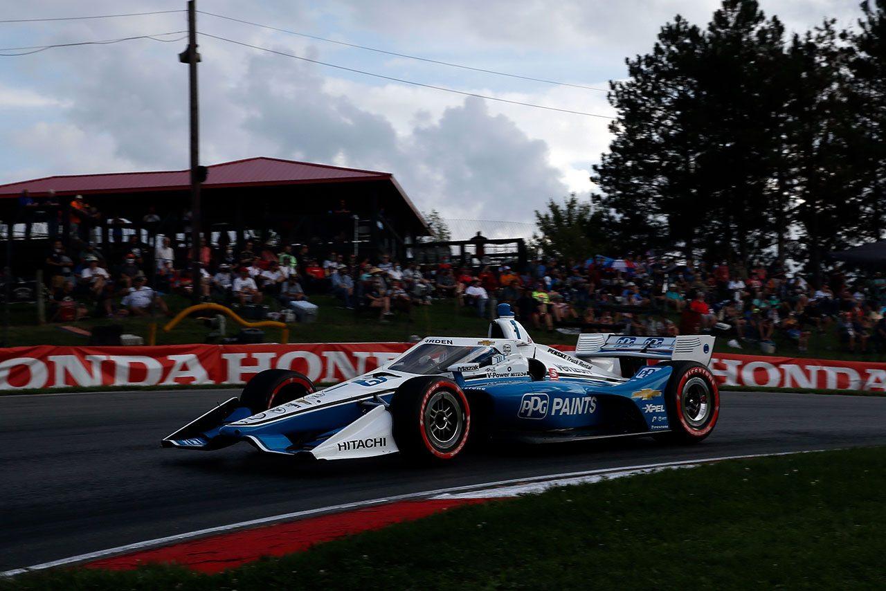 インディカー第10戦ミド・オハイオ詳報:パワーがライバルを寄せ付けず完勝。琢磨は厳しいレースに
