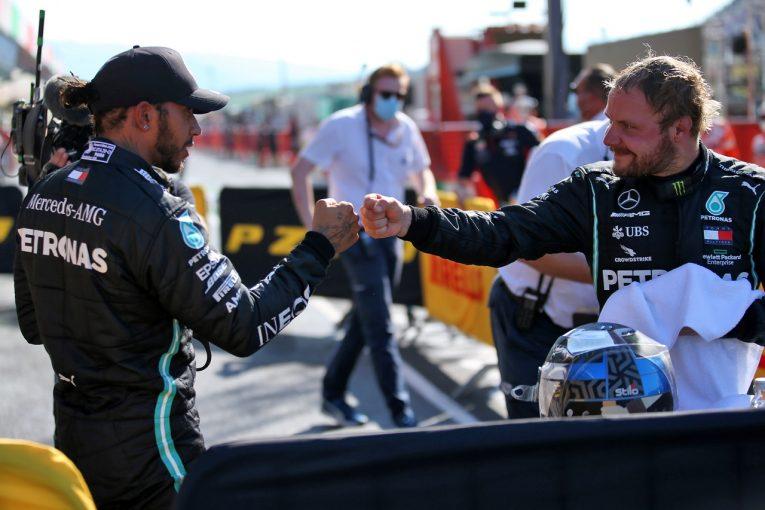 F1 | ボッタス、0.059秒差の予選2番手「黄旗にポール獲得のチャンスを奪われた」メルセデス【F1第9戦】