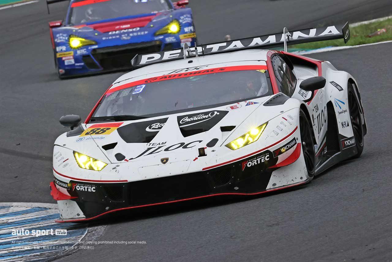 2020年スーパーGT第4戦もてぎ JLOC ランボルギーニ GT3(小暮卓史/元嶋佑弥)