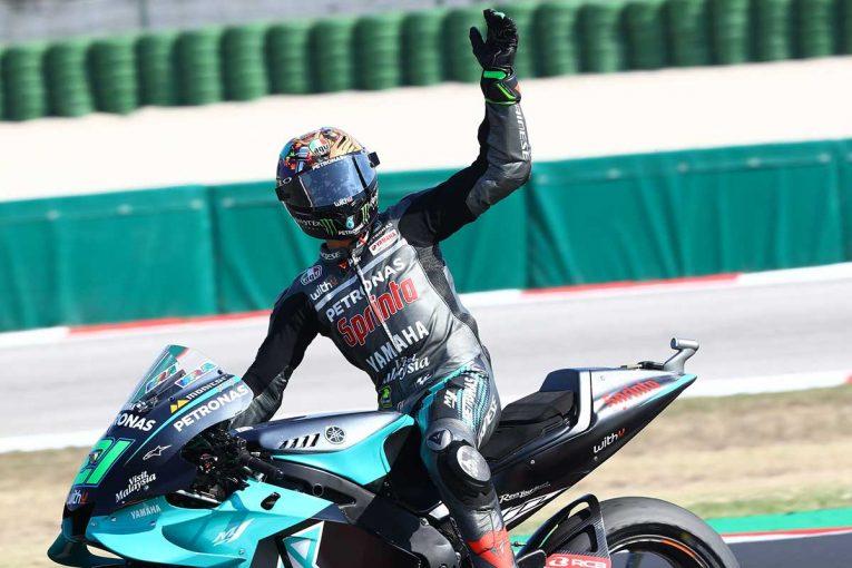 MotoGP   MotoGP第7戦:ペトロナス・ヤマハのモルビデリが初優勝。ランキングトップのクアルタラロは2回の転倒を喫する