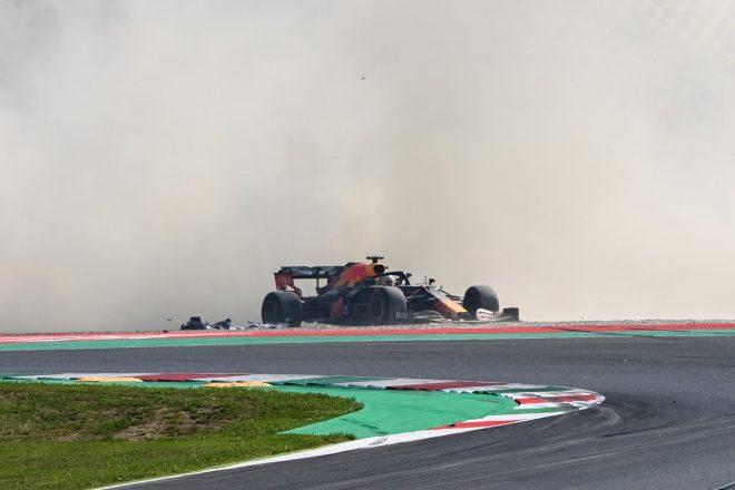 2020年F1第9戦トスカーナGP マックス・フェルスタッペン(レッドブル・ホンダ)がリタイア