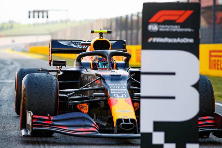 F1 | レッドブル・ホンダ分析:明暗別れたトスカーナGP。アルボンは失ったポジションを取り戻し、実力で表彰台を獲得
