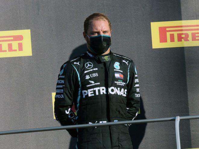 2020年F1第9戦トスカーナGP バルテリ・ボッタス(メルセデス)が2位を獲得