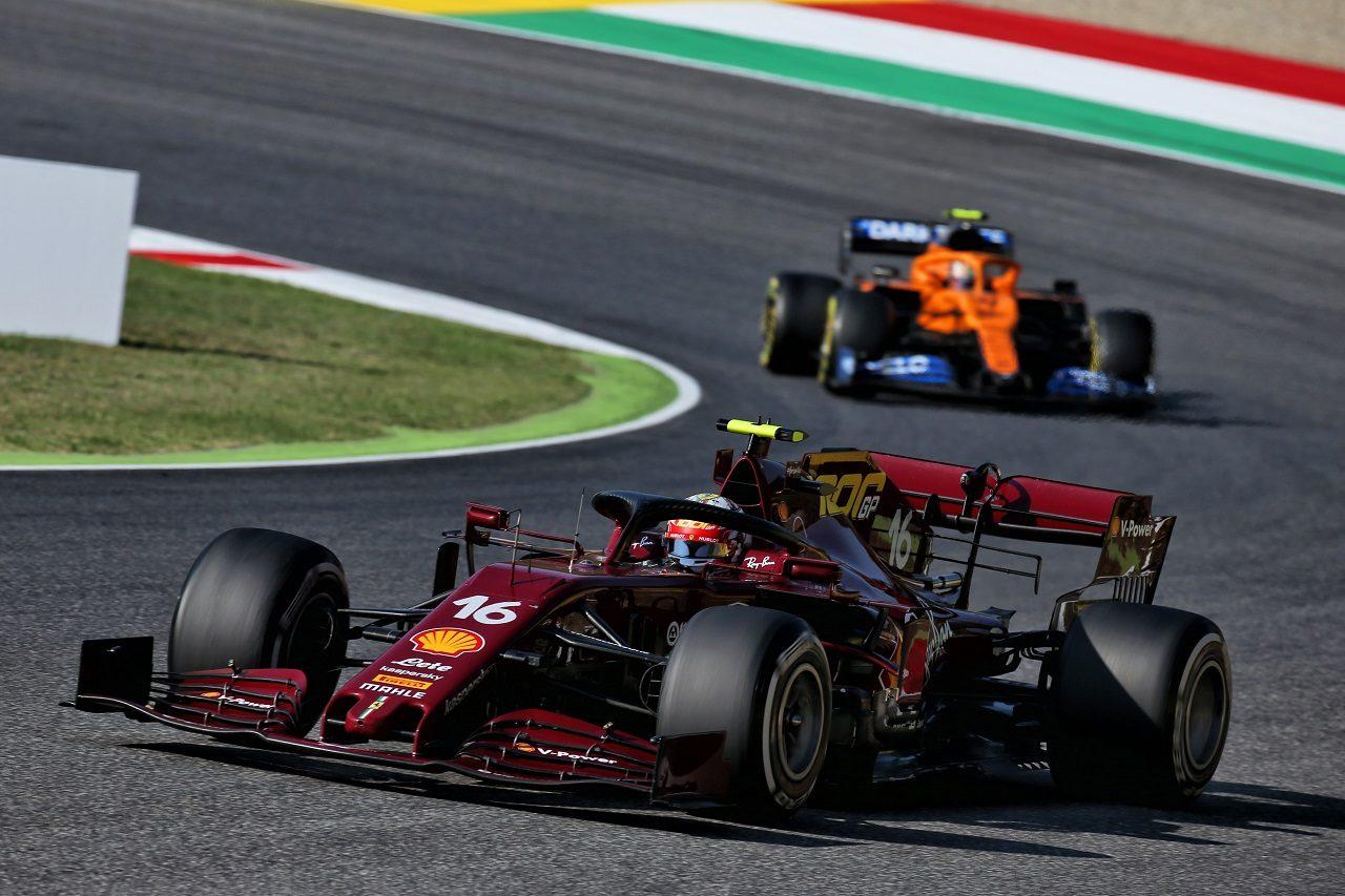 2020年F1第9戦トスカーナGP シャルル・ルクレール(フェラーリ)