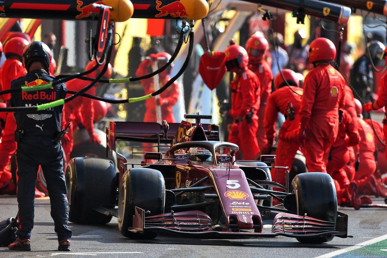 2020年F1第9戦トスカーナGP セバスチャン・ベッテル(フェラーリ)