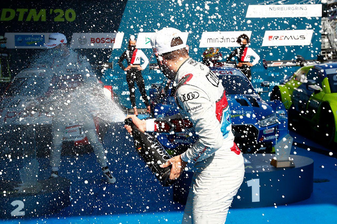 DTM第5戦ニュルブルクリンク:失速のミュラーを交わし、レース2はフラインスが勝利
