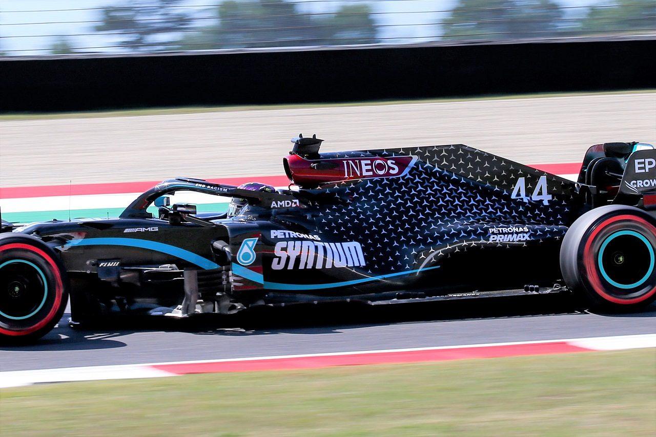 2020年F1第9戦トスカーナGP ルイス・ハミルトンのメルセデスF1 W11