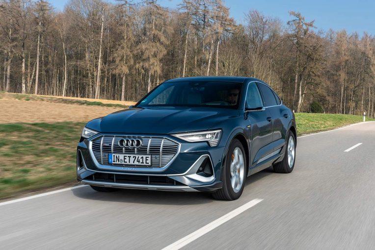 クルマ | アウディ、電気自動車e-tron Sportbackを発売「年内の目標販売台数は200台。今後日本でも電動化を加速」