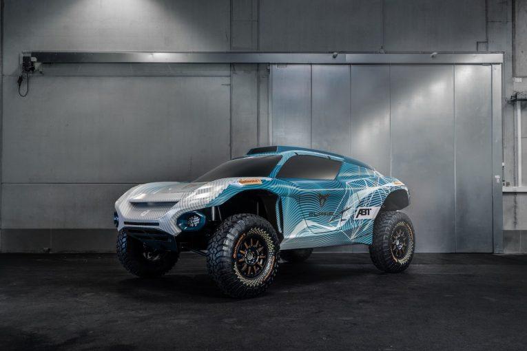 ラリー/WRC   エクストリームE:クプラ電動大使のマティアス・エクストローム、ABTに加入しEVオフロード戦に挑戦