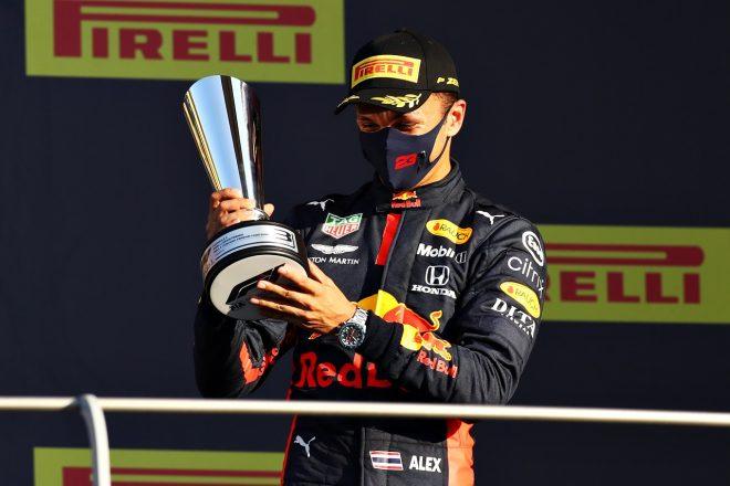 2020年F1第9戦トスカーナGP アレクサンダー・アルボン(レッドブル・ホンダ)が初表彰台を獲得