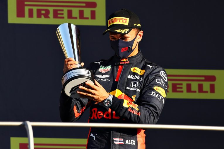 F1 | レッドブルF1代表が語るアルボンの長所と短所「初表彰台は大きな転機になる」
