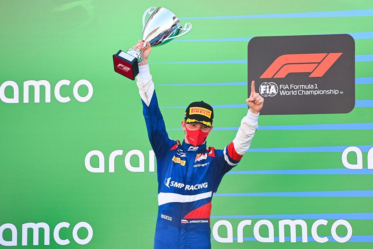 2020年FIA-F2第6戦スペイン レース1 ロバート・シュワルツマン(プレマ・レーシング)
