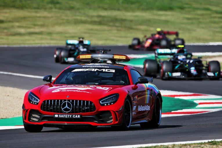 F1 | 【中野信治のF1分析第9戦】リスタート時のマルチクラッシュまでのドライバー視点。ムジェロの特性と駆け引きの心理