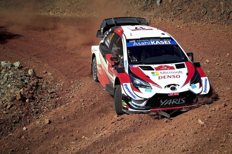 ラリー/WRC | WRCトルコ:トヨタ、選手権リーダーのオジエがSS2でトップタイム。初日3番手に