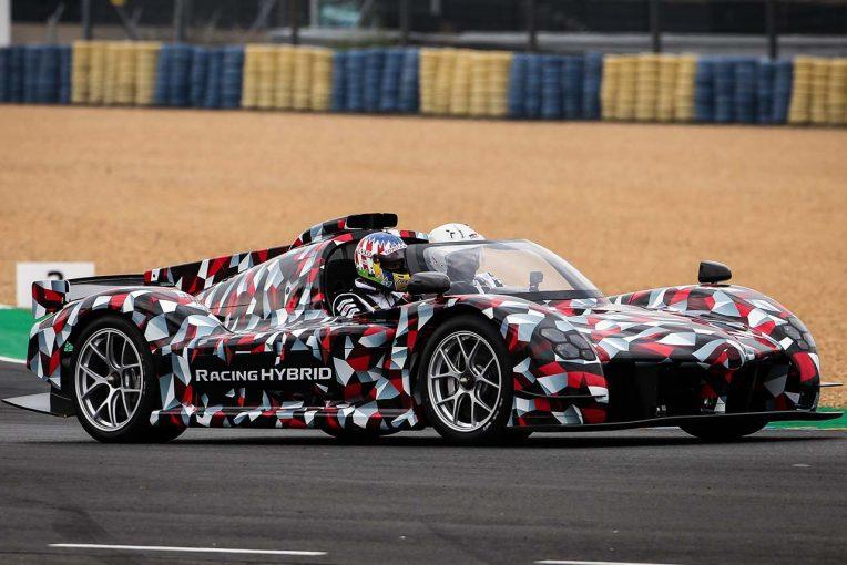 クルマ | ル・マン24時間:トヨタが開発中のハイパーカー『GR Super Sport(仮称)』がサルト・サーキットを走行
