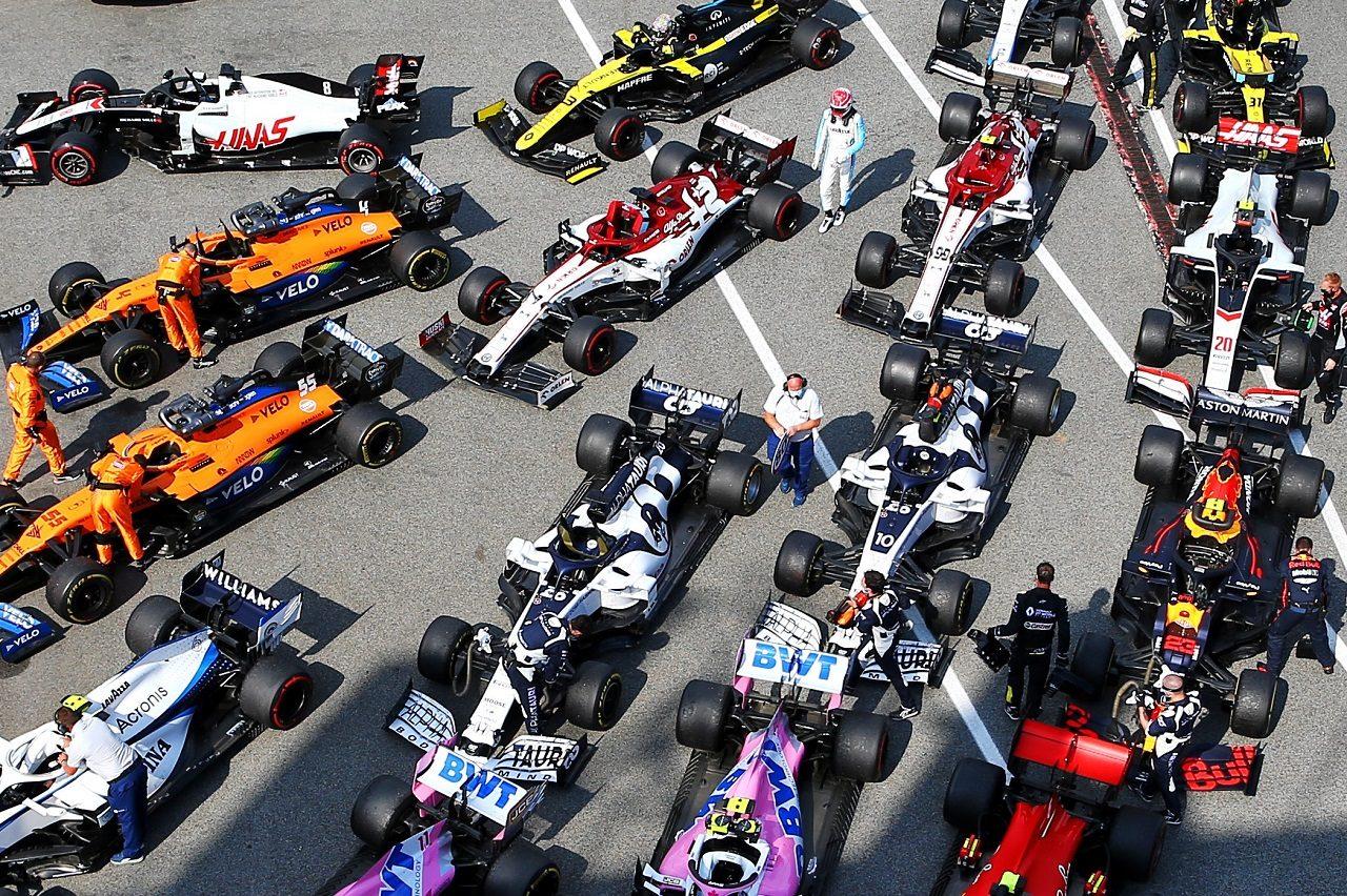 2020年F1スペインGPパルクフェルメ