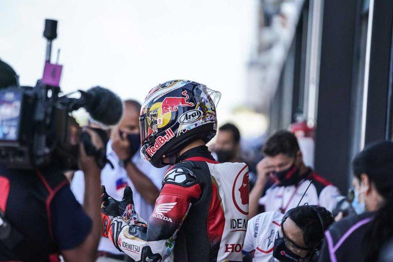 MotoGP   中上「正直がっかりしていますが、怪我がなかったのは幸い」/MotoGP第8戦予選