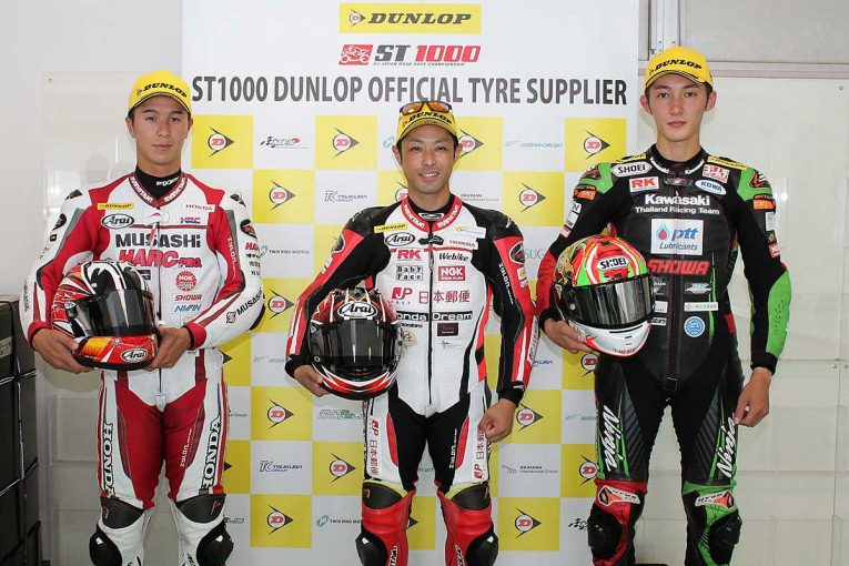 MotoGP   高橋裕紀「今年は全戦全勝をねらうだけです」/全日本ロード第3戦オートポリス ST1000決勝会見