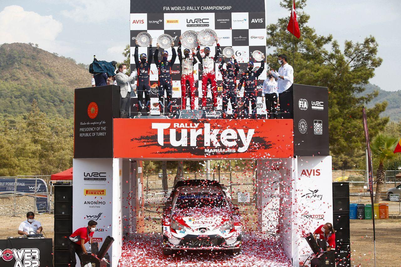 2020年WRC第5戦トルコ表彰式