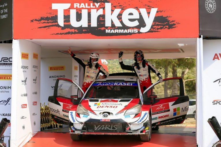ラリー/WRC | 【順位結果】2020年WRC第5戦トルコ SS12後