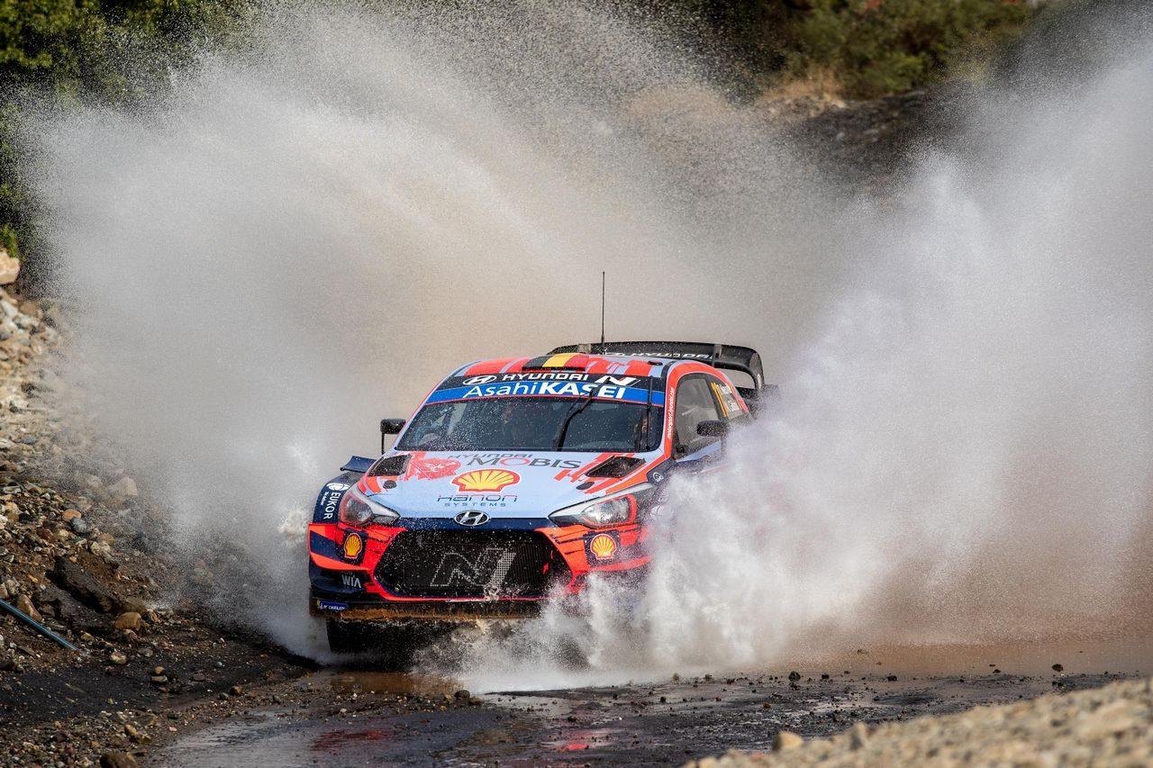 ティエリー・ヌービル(ヒュンダイi20クーペWRC) 2020年WRC第5戦トルコ