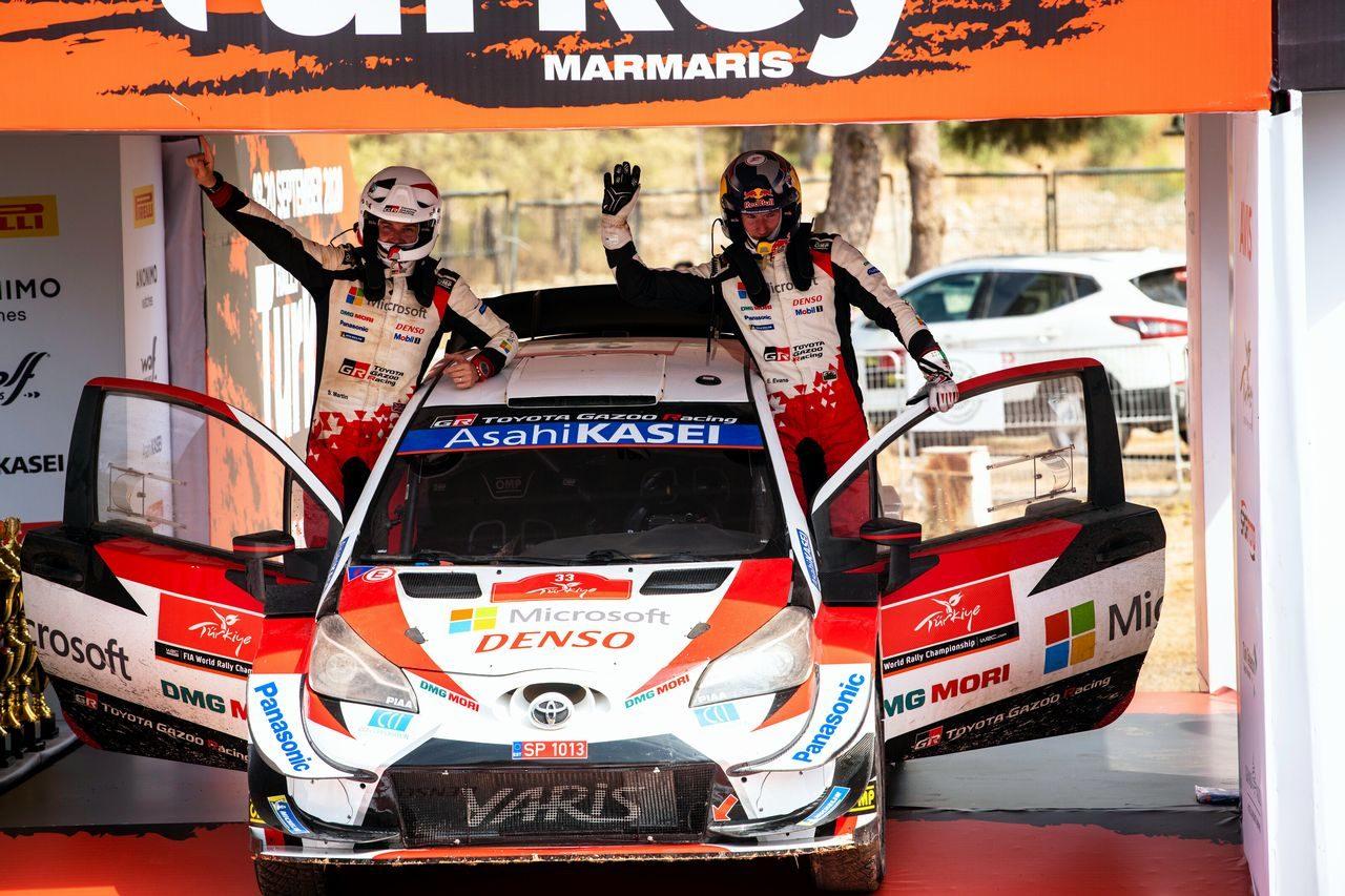 エルフィン・エバンス(トヨタ・ヤリスWRC) 2020年WRC第5戦トルコ