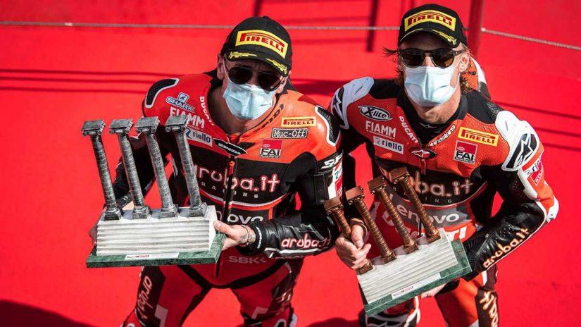 MotoGP | チャズ・デイビス「パズルのピースをすべてうまく組み合わせることができた」/SBK第6戦カタルーニャ決勝