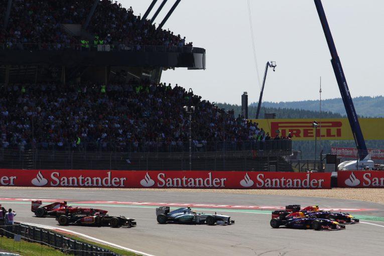 F1 | ニュルブルクリンクで開催のF1アイフェルGPに観客2万人の入場許可