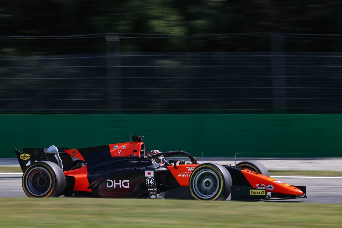 2020年FIA-F2第8戦イタリア 松下信治(MPモータースポーツ)