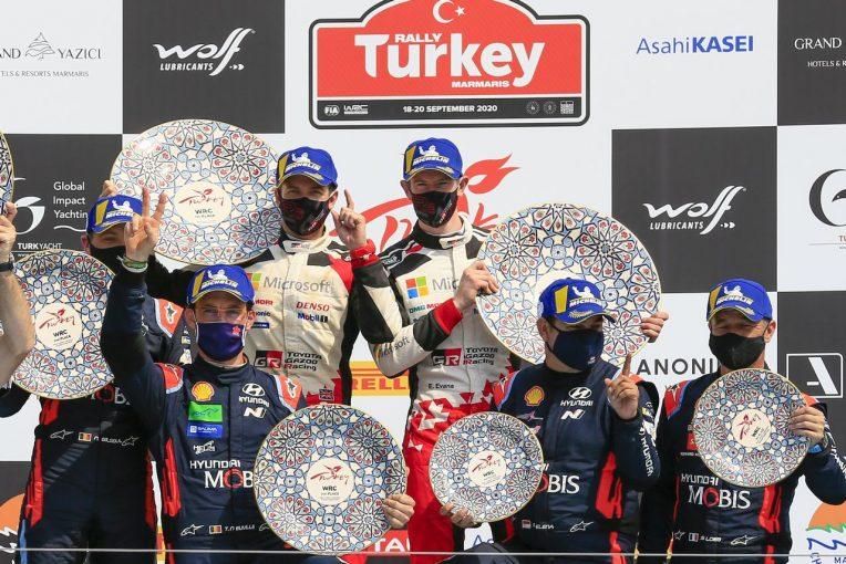 ラリー/WRC | 【ポイントランキング】2020WRC第5戦トルコ終了時点
