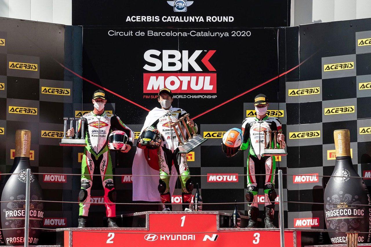 岡谷雄太、WSS300で日本人初優勝を果たす 2020SBK第6戦カタルーニャ レースレポート