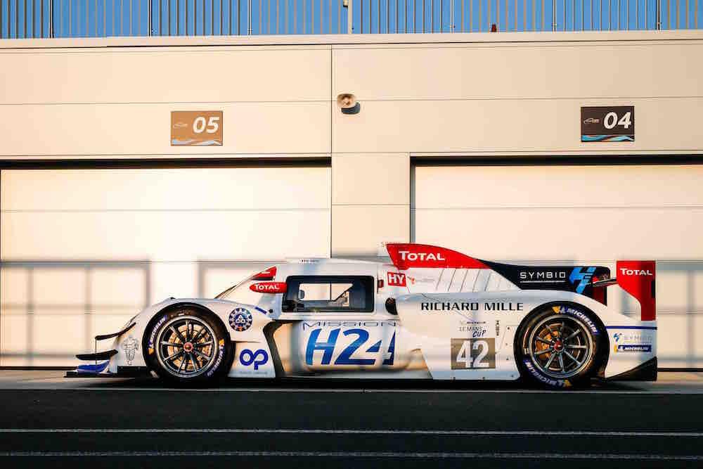 ミッションH24、ル・マンで新型水素プロトタイプカー『H24』発表。新パートナーも