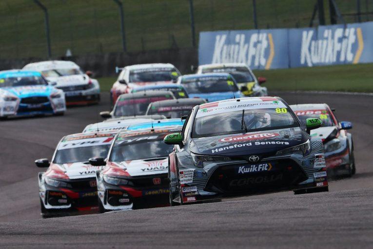 海外レース他 | BTCC第5戦:トヨタ・カローラBTCCのトム・イングラムが今季初勝利から2連勝を飾る