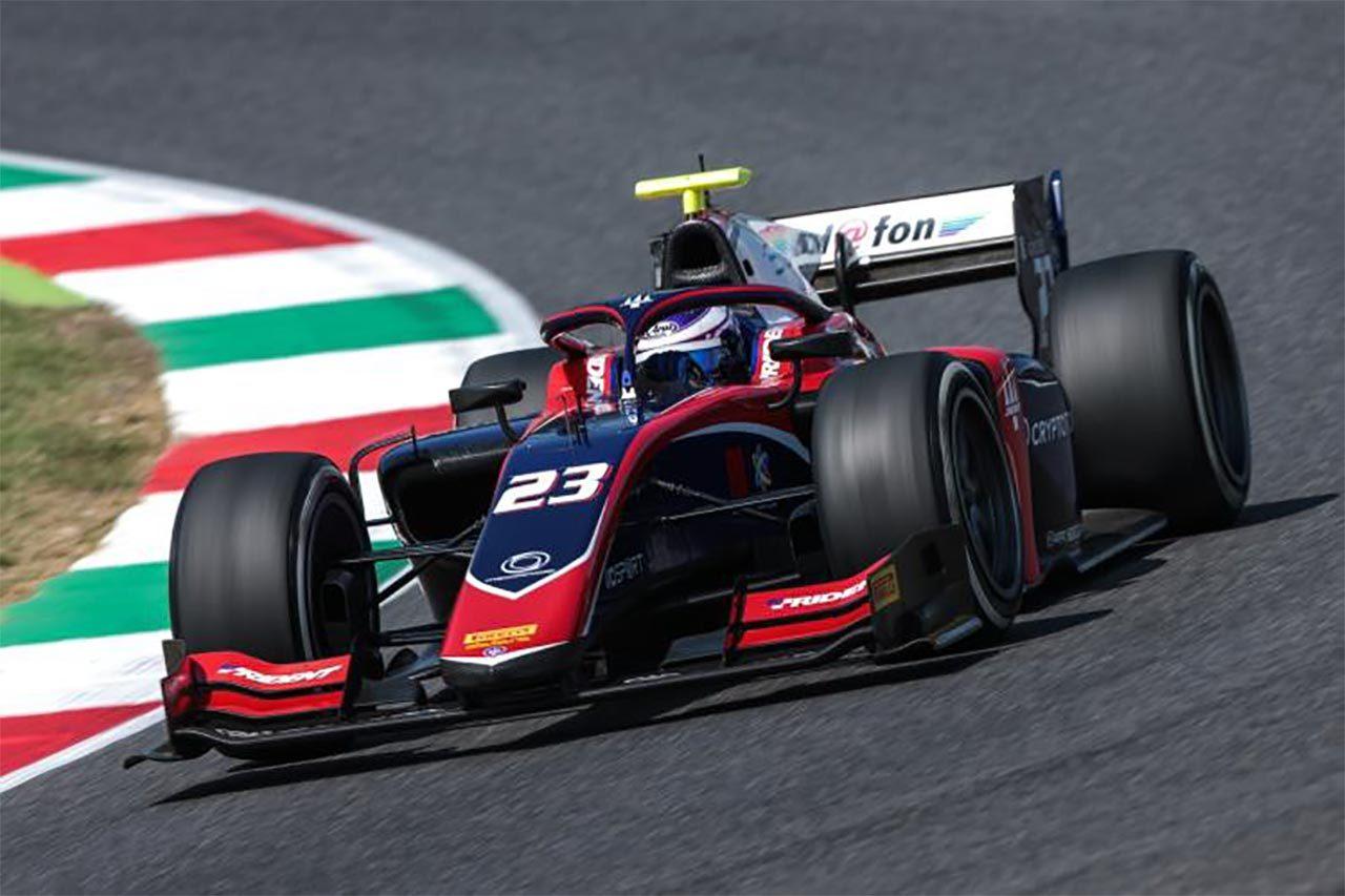 FIA-F2:佐藤万璃音、ムジェロで待望の初ポイント。「まだ8位だが得点は嬉しい」