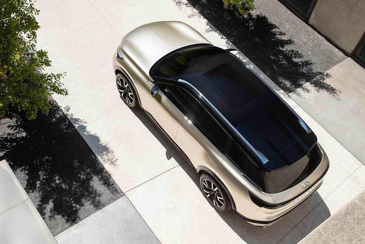 インフィニティ、次世代SUVデザインの方向性を示す『QX60 Monograph』を初公開