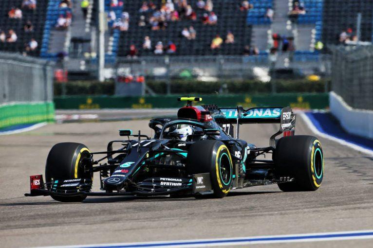 F1 | F1ロシアGP FP1:風の影響でスピンやコースオフ続出。ボッタスがトップ、フェルスタッペン3番手