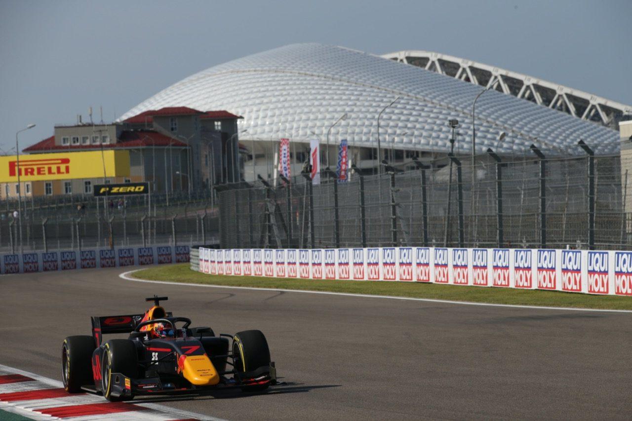 【順位結果】FIA-F2第10戦ロシア予選