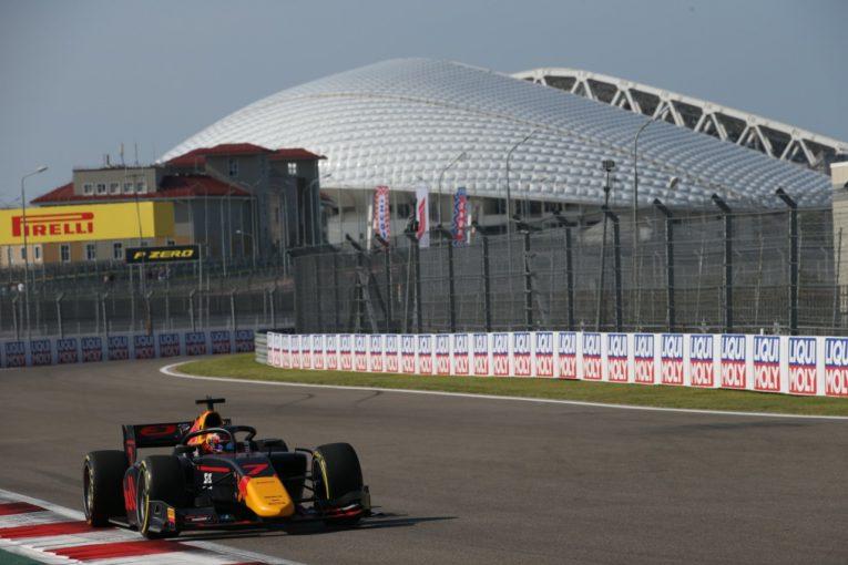 海外レース他   角田裕毅が0.006秒差で3度目のポールポジションを獲得【順位結果】FIA-F2第10戦ロシア予選