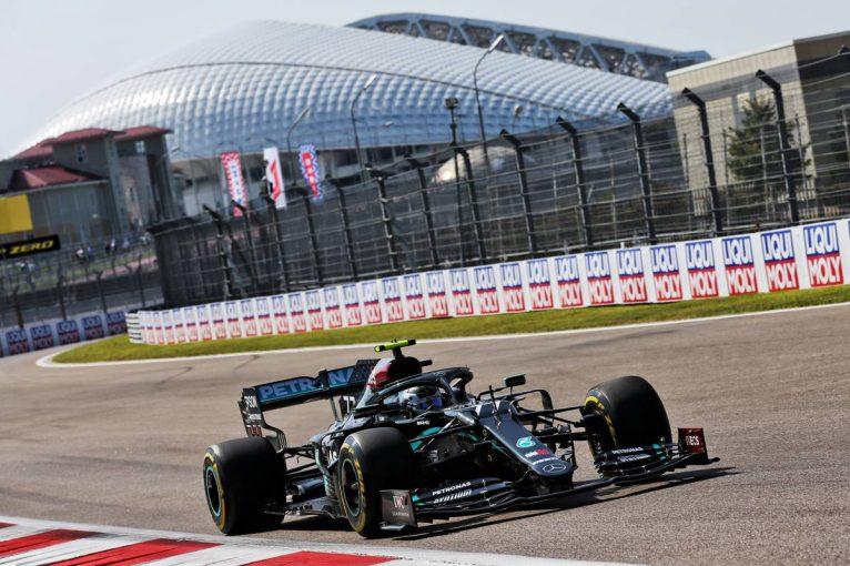 F1   F1ロシアGP FP2:メルセデス勢が初日ワン・ツー、リカルドが続く。11番手ガスリーも好調か