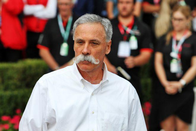 F1のチェアマンおよびCEOを務めるチェイス・キャリー