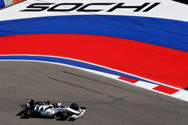 2020年F1第10戦ロシアGP ダニール・クビアト(アルファタウリ・ホンダ)