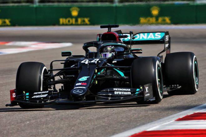 2020年F1第10戦ロシアGP ルイス・ハミルトン(メルセデス)
