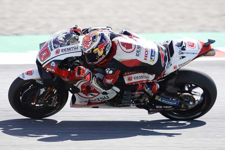MotoGP | 中上「風がとても強く、難しいコンディションでした」/MotoGP第9戦カタルーニャGP初日