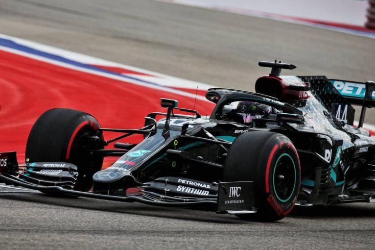 F1   ハミルトンが最速。レッドブル・ホンダのフェルスタッペンは6番手【タイム結果】F1第10戦ロシアGPフリー走行3回目
