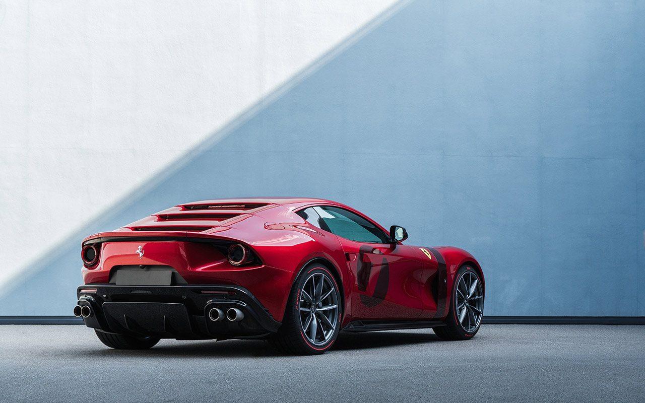 V12ベース10台目のワンオフモデル『フェラーリ オモロガータ』をフィオラノでワールドプレミア
