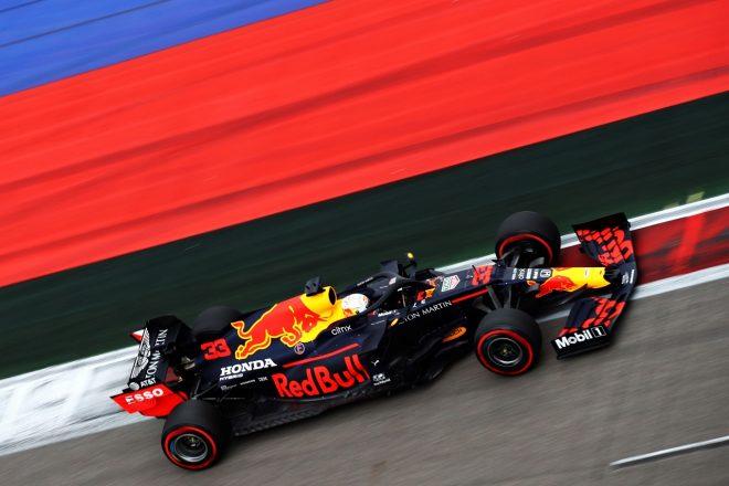 2020年F1第10戦ロシアGP マックス・フェルスタッペン(レッドブル・ホンダ)